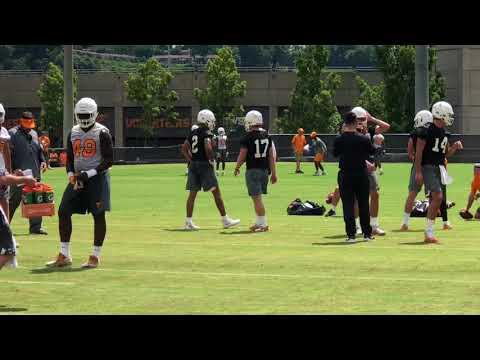 Tennessee opens preseason practice under first-year coach Jeremy Pruitt