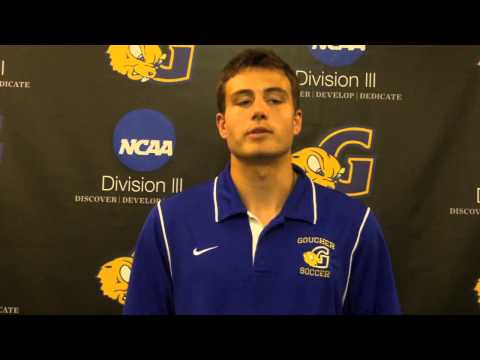 Men's Soccer Spotlight - Brandon Weiner - 9/25/13