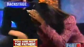 Justin Bieber paternity test on Maury Povich