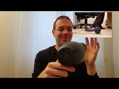ASMR Double Hair Dryer (head + Feet) Absolute Relax