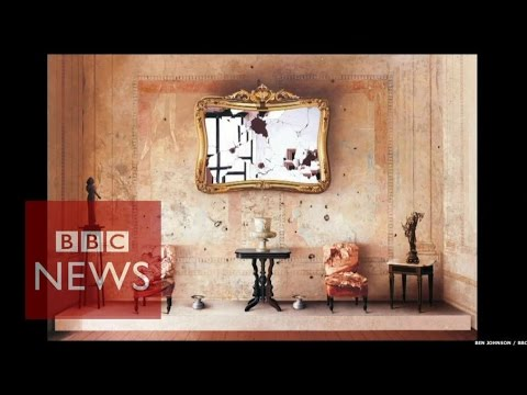 The artist who takes 17 years for a painting - BBC News