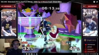 2-hour play-by-play analysis on pewpewu vs nintendude at SSS (2 parts) by choknater