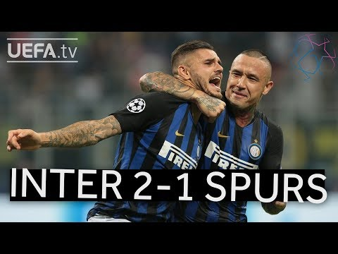 INTERNAZIONALE 2-1 TOTTENHAM #UCL HIGHLIGHTS