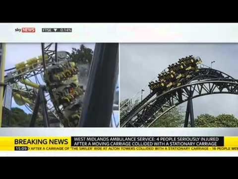 Alton Towers Smiler Rollercoaster Crash