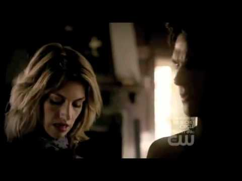 TVD 3x01 - Damon and Elena Scenes Part 1