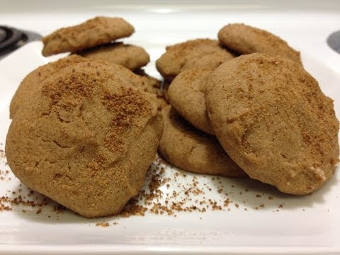 Cinnamon Coconut Sugar Cookies – HASfit Healthy Cookie Recipes – Low Glycemic – Diabetic Friendly