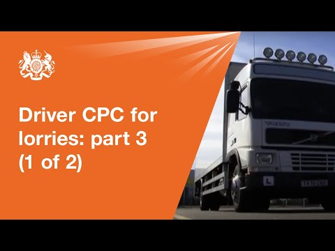 how to drive a hgv