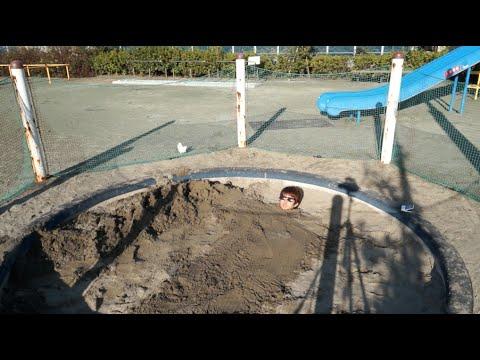 土に埋まるオレを助けてくれる人はいるのか