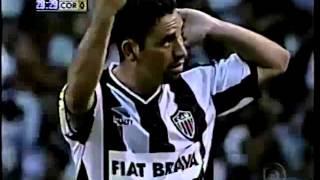 Segundo gol na decisão do Brasileirão 99. Narração: Willy Gonser.
