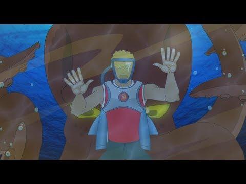 Supa Strikas - Season 3 Episode 33 - One Super League Under the Sea | Kids Cartoon