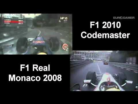 Comparaison Monaco virtuel contre Monaco réel