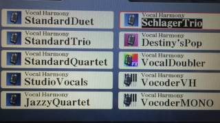 Download Lagu Demonstration of  Tyros 5  Vocal Harmony : Part 1 Mp3