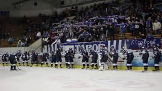JDEME DÁL! Táborští hokejisté sepřehoupli přes tým Klášterce dodruhého dějství play-off