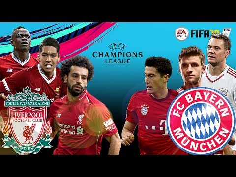LIVERPOOL VS BAYERN MUNCHEN | CHAMPIONS LEAGUE | Feb 2019 | FIFA 19 Big Match & Line Up Prediction