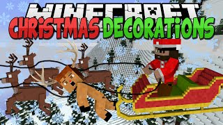Minecraft Mods || CHRISTMAS DECORATIONS!!! || Lights and Stars!!! || Mod Showcase [1.7.10]