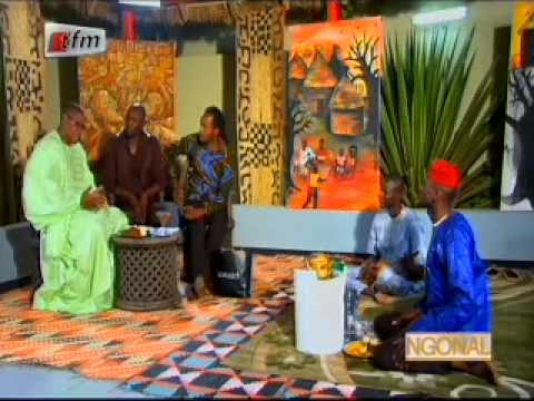 Ngonal reçoit Mouhamed Diallo(Politicien) - 18 Avril 2014