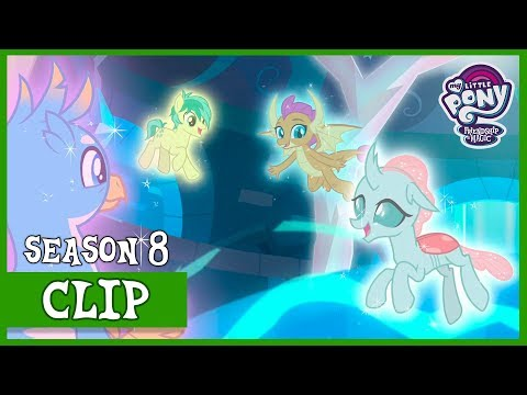 The Young 6 vs Cozy Glow (School Raze) | MLP: FiM [HD]