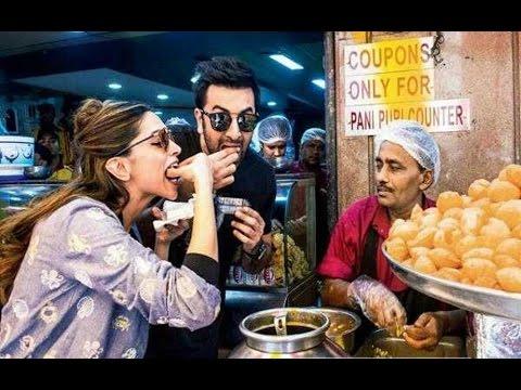 Video Deepika Padukone And Ranbir Kapoor Eats Pani Puri download in MP3, 3GP, MP4, WEBM, AVI, FLV January 2017