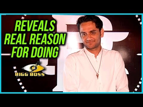 Vikas Gupta Reveals REAL REASON Behind Doing Bigg