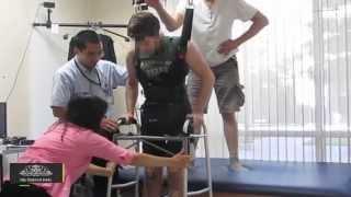 Santé et innovation: un paraplégique marche