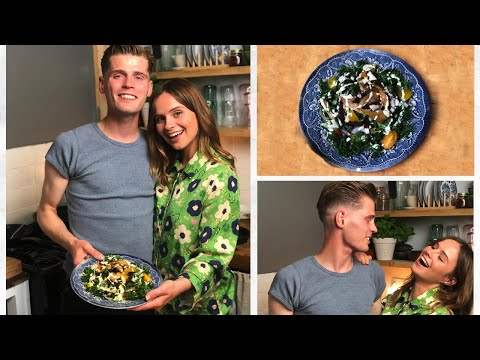 Gabrielle Aplin  - #FoodWithFriends - Kale Caesar Salad with Alfie Hudson-Taylor