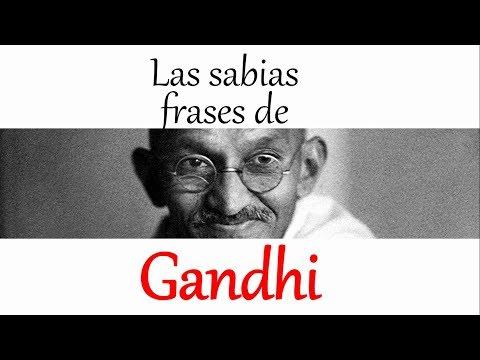 Frases de vida - Diez frases de Gandhi que cambiarán tu vida