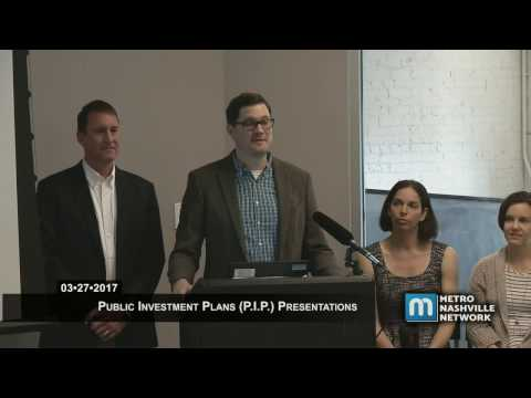 03/27/2017 Mayor's Public Investment Plan Presentation #1