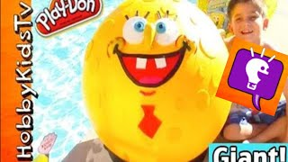Biggest Spongebob Surprise Play-Doh Face! Subscribe for more daily learning fun. ---MUSIC BY--- YouTube Audio Library...