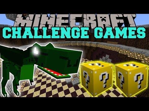 Minecraft: DINOSAURS MODS CHALLENGE GAMES - Lucky Block Mod - OreSpawn Modded Mini-Game
