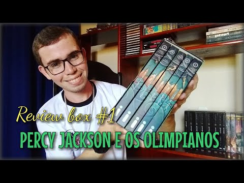 Box Review #1: Percy Jackson e Os Olimpianos