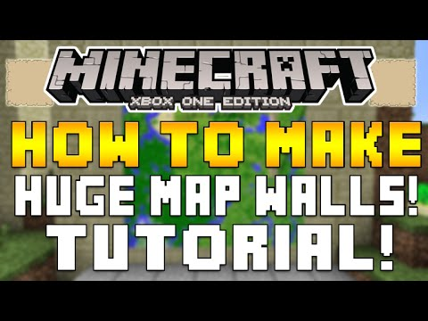 Minecraft Xbox One & PS4 – TIPS FOR CREATING A MAP WALL USING ITEM FRAMES FULLY EXPLAINED [TUTORIAL]