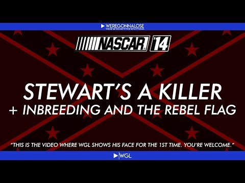 Tony - Facecam gameplay trolling on Nascar 14 with southern topics like Tony Stewart, in breeding and the rebel flag!! For more funny videos be sure to subscribe!! ☆https://www.youtube.com/user/mw2loser...