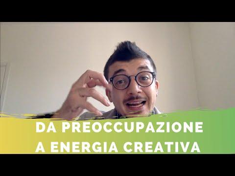 PREOCCUPAZIONE futuro: come trasformarla in energia per realizzarti col Creative Design Thinking.