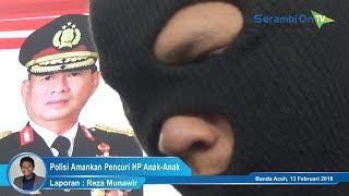 Polisi Bekuk Spesialis Pencuri HP Milik Anak-Anak