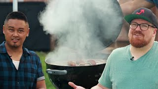 DIY Charcoal Grill Smoker: Behind Tasty by Tasty