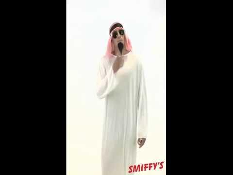 Déguisement émir arabe pour homme plusieurs tailles