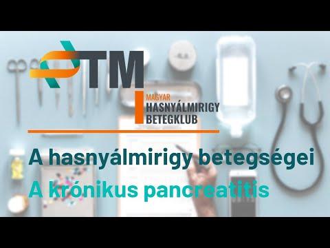 A hasnyálmirigy betegségei - A krónikus pancreatitis