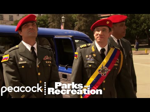 Pawnee Hosts Venezuela's Parks Department - Parks and Recreation