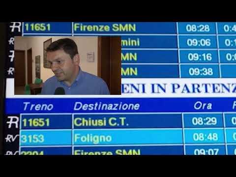 Gelicidio anche ad Arezzo. Treni soppressi e caos trasporti