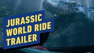 Jurassic World: The Ride Trailer (Universal Studios) by IGN