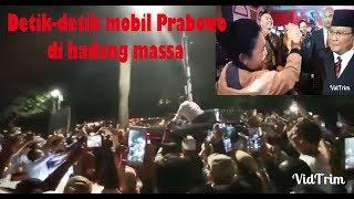 Video Masya Allah Usai Debat Mobil Prabowo di hadang oleh masyarakat ?? MP3, 3GP, MP4, WEBM, AVI, FLV Mei 2019