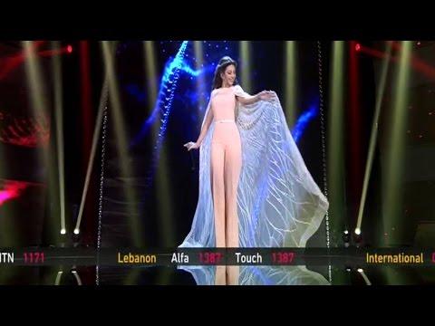 Myriam Fares Deggou El Toboul Live Golden Mic ميريام فارس دقوا الطبول مباشر صوت الجيل الجديد