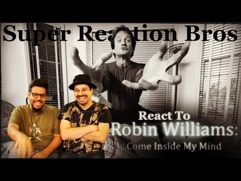SRB Reacts to Robin Williams: Come Inside My Mind Official HBO Trailer