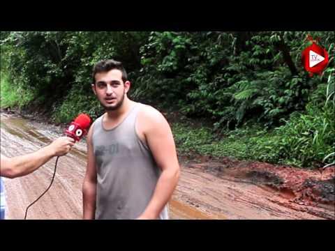 Lama transforma rodovia entre Umuarama e Mariluz em rali traiçoeiro