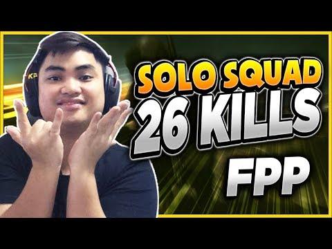 RIP113 SOLO SQUAD FPP 26 KILLS l BẮN LÀ PHẢI VẬY - Thời lượng: 10 phút.