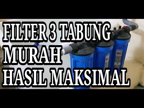 Review Manfaat Filter Air 3 Tabung & Giveaway 1000 Subscriber