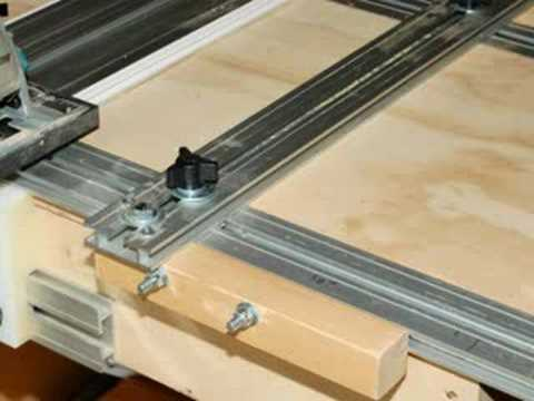 The Original Jimmy  table saw safety/and the EZ System