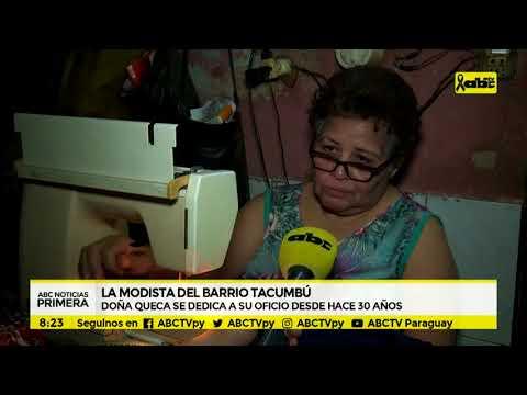 La modista del barrio Tacumbú