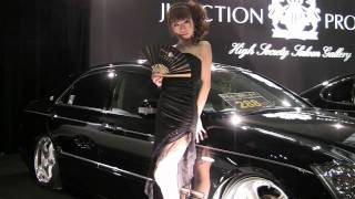 大阪オートメッセ 2011の模様です。JUNCTIONPRODUCEさんのブースにて。