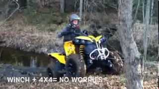 7. 2014 Can-am Renegade 500 Day One demo!!!